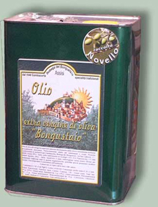 extra virgin olive oil of superior category Bongustaio